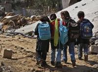 Dzieci ze strefy Gazy